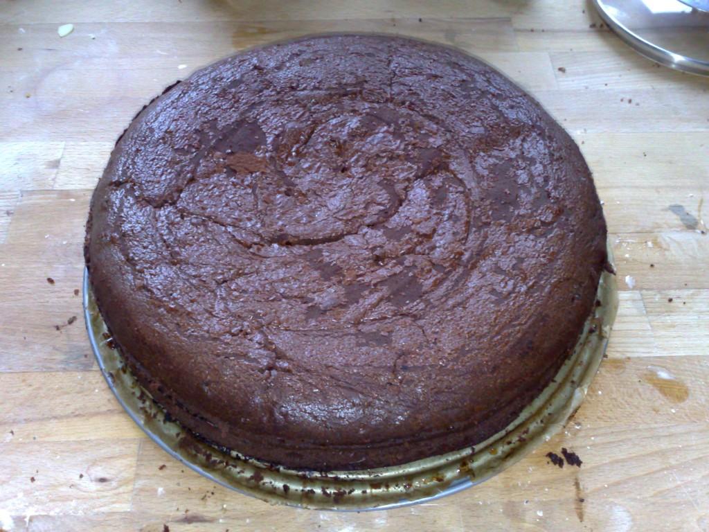 Schokoladenbisquit, sehr dunkel und schokoladig