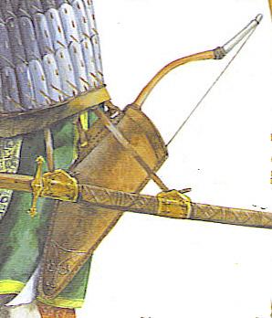 Osprey-Vorlage Bogentasche