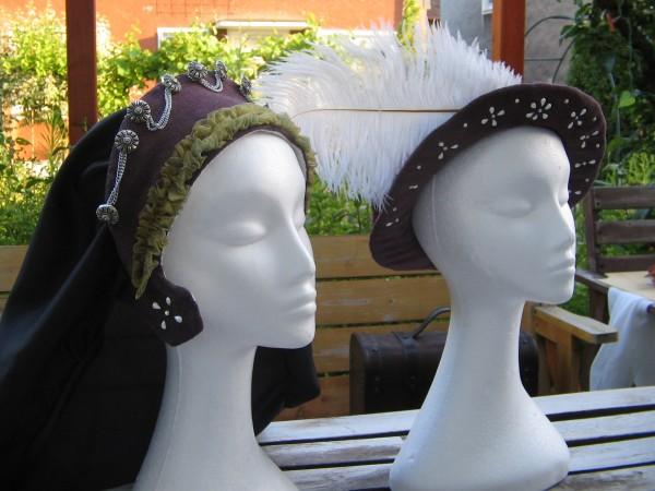 Henrician Hat und French Hood