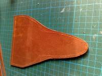 zugeschnittenes Leder